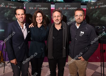 Editorial picture of 'Sea Of Shadows' film premiere, New York, USA - 01 Mar 2019
