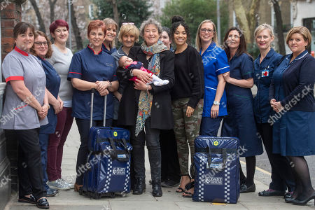 Editorial picture of National community midwives' bags launch, London, UK - 01 Mar 2019