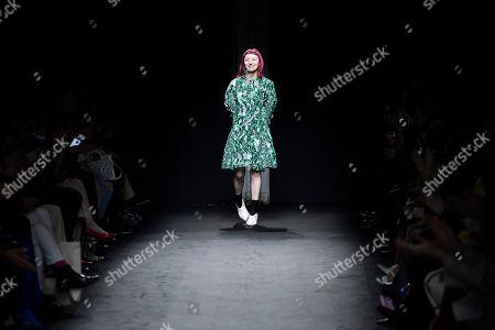 Editorial photo of DROMe - Runway - Paris Fashion Week Women F/W 2019/20, France - 02 Mar 2019