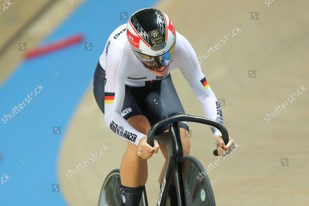 Miriam Welte of Germany Women's 500m Time Trial Finals.