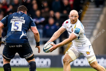 Editorial photo of Sale Sharks v Exeter Chiefs, UK - 02 Mar 2019