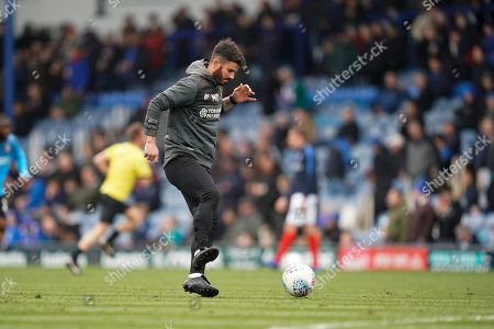 Stock Image of Bradford City caretaker manager Martin Drury during the EFL Sky Bet League 1 match between Portsmouth and Bradford City at Fratton Park, Portsmouth