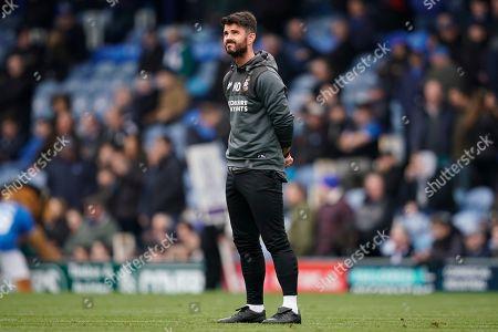 Bradford City caretaker manager Martin Drury during the EFL Sky Bet League 1 match between Portsmouth and Bradford City at Fratton Park, Portsmouth