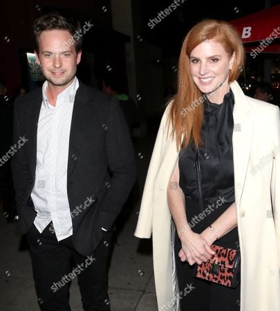 Patrick J. Adams and Sarah Rafferty
