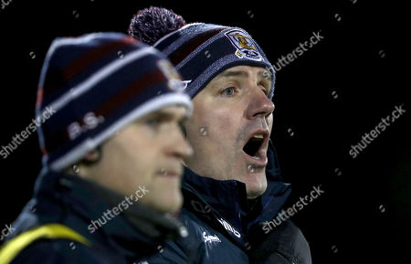 Mayo vs Galway. Galway manager Kevin Walsh