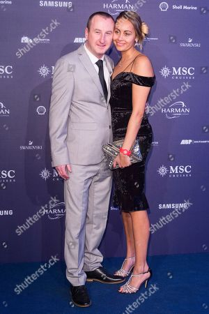 Andy Whyment and wife Nicola Willis