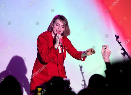 Stock Picture of Uffie in concert at The Independent