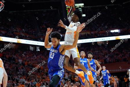 Editorial photo of NCAA Basketball Kentucky vs Tennessee, Knoxville, USA - 02 Mar 2019