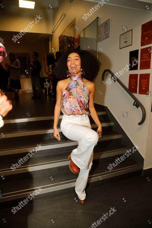 13923f0d Tommy Hilfiger show Backstage Paris Fashion Week Stock Photos ...