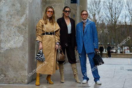 Annabel Rosendahl, Darja Barannik, Tine Andreaa,