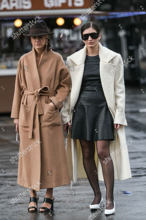 Editorial photo of Street style, Fall Winter 2019, Paris Fashion Week, France - 02 Mar 2019