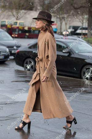 Editorial image of Street Style, Fall Winter 2019, Paris Fashion Week, France - 02 Mar 2019