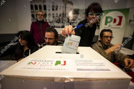 Editorial picture of Election of the national secretariat of the Italian Democratic Party, Rome, Italy - 03 Mar 2019