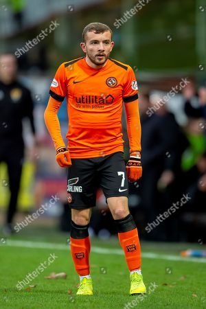 Paul McMullan (#7) of Dundee United FC during the William Hill Scottish Cup quarter final match between Dundee United and Inverness CT at Tannadice Park, Dundee