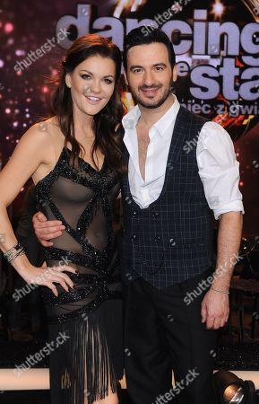 Agnieszka Radwanska and Stefano Terrazzino