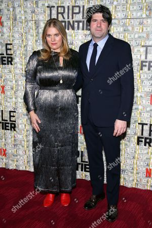 J.C. Chandor and guest