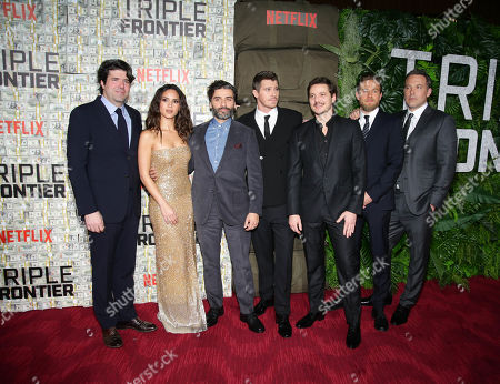 J.C. Chandor, Adria Arjona, Oscar Isaac, Garrett Hedlund, Pedro Pascal, Charlie Hunnam, Ben Affleck
