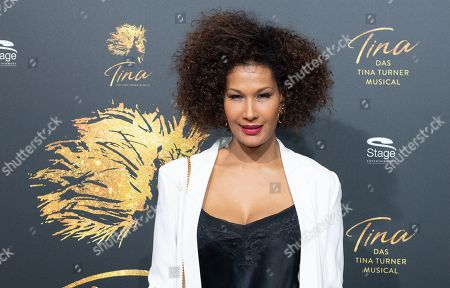 Model Marie Amerie before the premiere of the new 'Tina The Musical' in Hamburg, Germany, 03 March 2019. The musical will deal with the life of the singer Tina Turner. The 79-year old has sold over 200 millions of records and won 12 Grammy's.