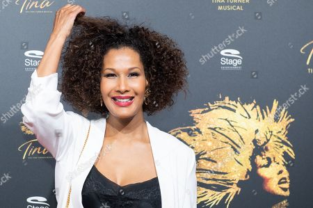 Marie Amiere arrives for the premiere of the new musical 'TINA' in Hamburg, northern Germany, 03 March 2019. The musical will deal with the life of the singer Tina Turner. The 79-year old has sold over 200 millions of records and won 12 Grammy's.
