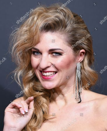 Stock Photo of Christine Deck arrives for the premiere of the new musical 'TINA' in Hamburg, northern Germany, 03 March 2019. The musical will deal with the life of the singer Tina Turner. The 79-year old has sold over 200 millions of records and won 12 Grammy's.