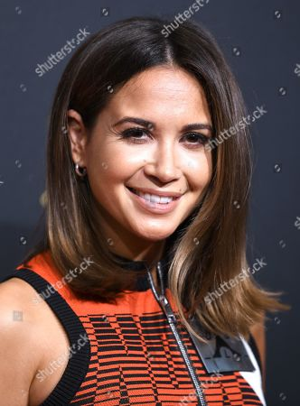 Mandy Capristo arrives for the premiere of the new musical 'TINA' in Hamburg, northern Germany, 03 March 2019. The musical will deal with the life of the singer Tina Turner. The 79-year old has sold over 200 millions of records and won 12 Grammy's.