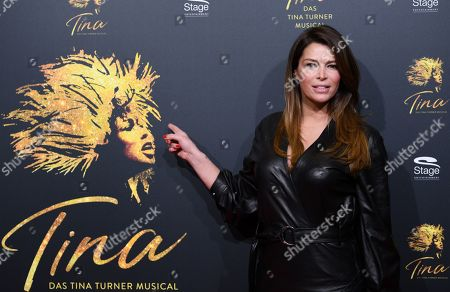 TV celebrity Sabia Boulahrouz before the premiere of the new 'Tina The Musical' in Hamburg, Germany, 03 March 2019. The musical will deal with the life of the singer Tina Turner. The 79-year old has sold over 200 millions of records and won 12 Grammy's.