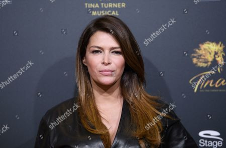 Sabia Boulahrouz arrives for the premiere of the new musical 'TINA' in Hamburg, northern Germany, 03 March 2019. The musical will deal with the life of the singer Tina Turner. The 79-year old has sold over 200 millions of records and won 12 Grammy's.