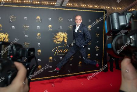 Actor Peter Lohmeyer arrives for the premiere of the new musical 'TINA' in Hamburg, northern Germany, 03 March 2019. The musical will deal with the life of the singer Tina Turner. The 79-year old has sold over 200 millions of records and won 12 Grammy's.