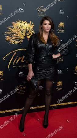 Stock Picture of Sabia Boulahrouz arrives for the premiere of the new musical 'TINA' in Hamburg, northern Germany, 03 March 2019. The musical will deal with the life of the singer Tina Turner. The 79-year old has sold over 200 millions of records and won 12 Grammy's.