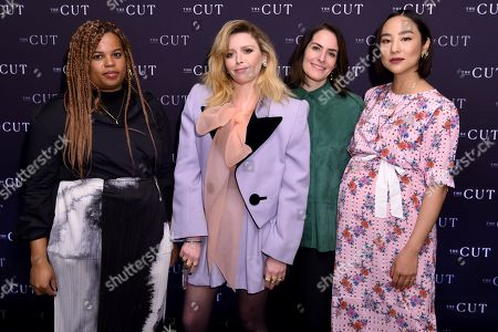 Stock Picture of Allison Davis, Natasha Lyonne, Stella Bugbee and Greta Lee