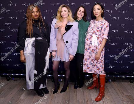 Stock Image of Allison Davis, Natasha Lyonne, Stella Bugbee and Greta Lee
