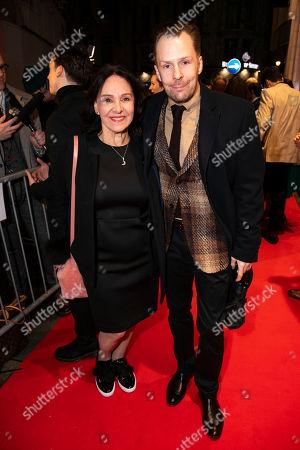 Arlene Phillips and Nikolai Foster