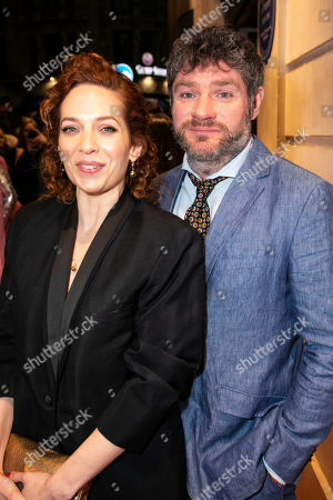 Stock Picture of Katherine Parkinson and Harry Peacock