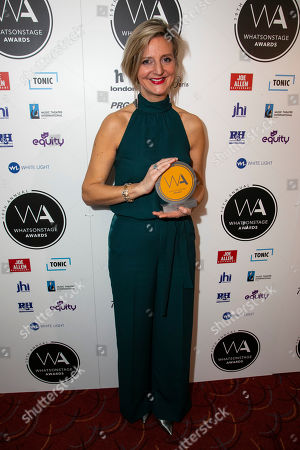 Marianne Elliott accepts the award for Best Direction