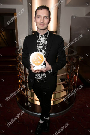 Dan Gillespie Sells accepts the award for Best Original Cast Recording