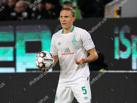 Ludwig Augustinsson /   / Portrait   / Sport / Football / Football: Germany, 1. Bundesliga  /  2018/2019 / 03.03.2019 / VfL Wolfsburg WOB vs. SV Werder Bremen SVW / DFL regulations prohibit any use of photographs as image sequences and/or quasi-video. /