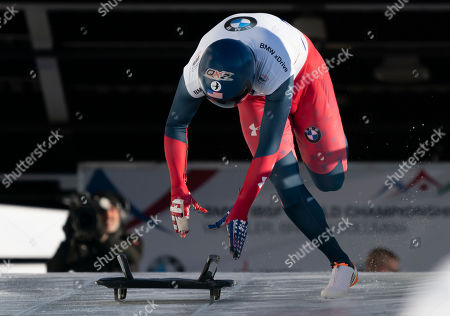 Editorial photo of IBSF Bobsleigh & Skeleton World Championships, Whistler, Canada - 03 Mar 2019