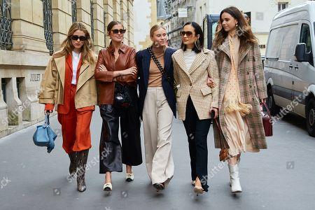 Annabel Rosendahl, Darja Barannik, Tine Andreaa, Anna Rosa Vitiello, Florrie Thomas,