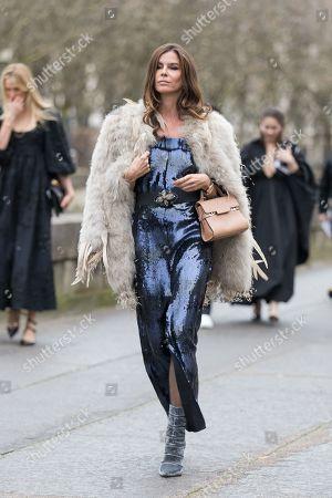 Editorial image of Street Style, Fall Winter 2019, Paris Fashion Week, France - 03 Mar 2019