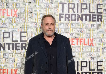 """Editorial image of World Premiere of """"Triple Frontier"""", New York, USA - 03 Mar 2019"""