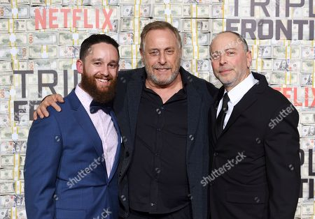 """Editorial photo of World Premiere of """"Triple Frontier"""", New York, USA - 03 Mar 2019"""