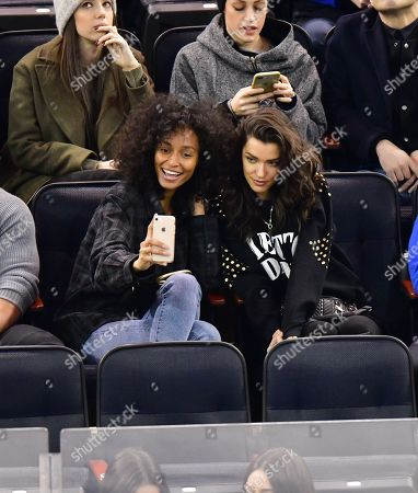 Editorial picture of Celebrities at Washington Capitals v New York Rangers, NHL ice hockey match, Madison Square Garden, New York, USA - 03 Mar 2019