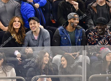 Kate Beckinsale, Pete Davidson, guest and Michael K. Williams