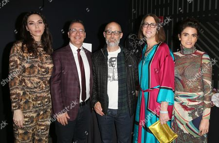 Whitney Cummings, City Councilman, Bob Blumenfield, Moby, California State Assembly members Laura Friedman, Nikki Reed