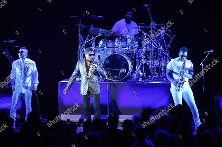 Babyface opens for Toni Braxton at the Microsoft Theater, in Los Angeles