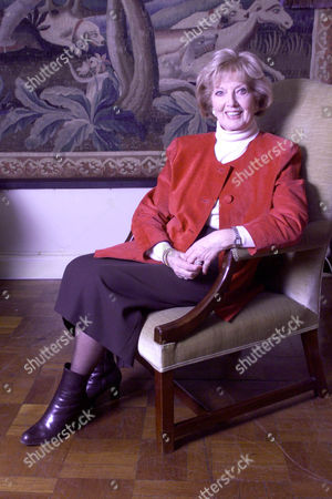 Editorial photo of Janet Brown Widow Of Peter Butterworth Also Pictured With A Silver Snuff Box The First Gift Her Husband Gave Her.pic Mike Forster . Rexmailpix.