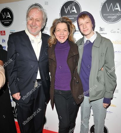 Nick Allott, Janie Dee and guest