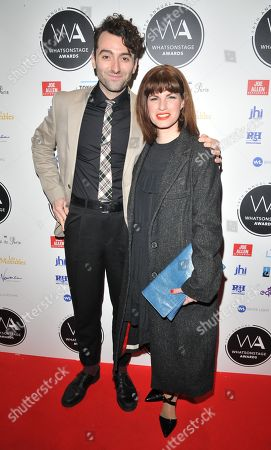 Marc Antolin and Jemima Rooper