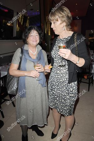 Fay Maschler and guest