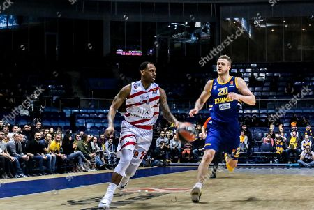 Editorial picture of AX Armani Exchange Olimpia Milan v Khimki Moscow, EuroLeague, Round 25, Basketball, Moscow, Russia - 28 Feb 2019